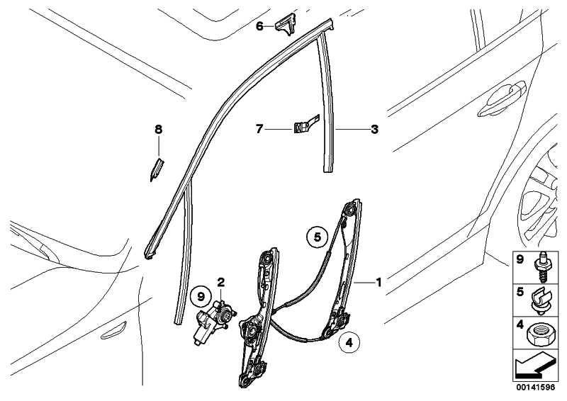 Antrieb Fensterheber vorne rechts  1er 3er X1  (67626927028)