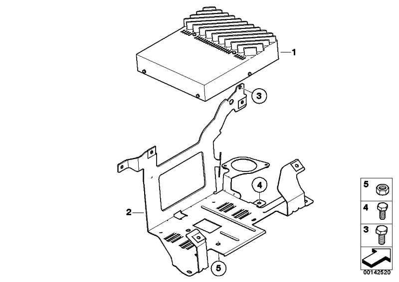 Verstärker Hifi-System  3er  (65129283501)