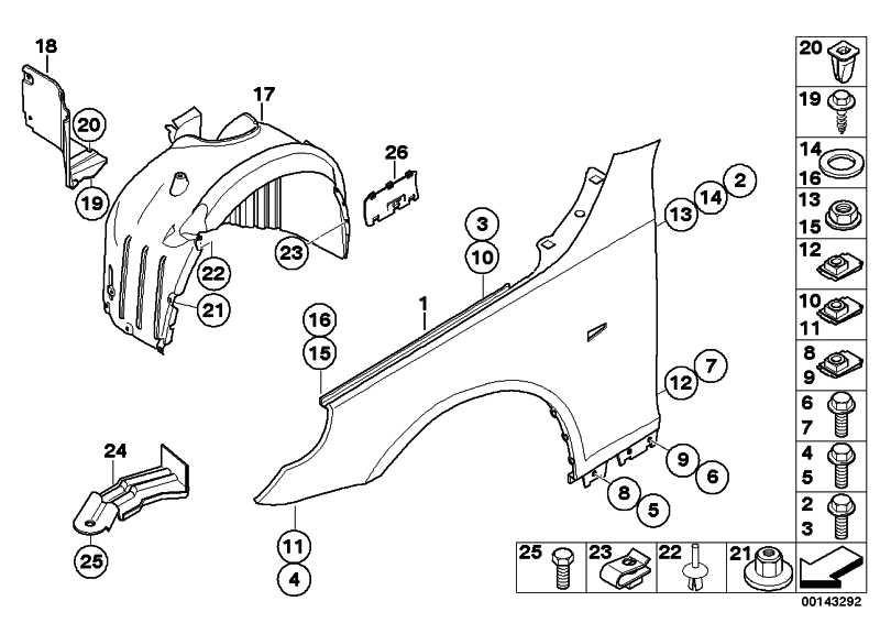 Deckel ABS Steckerbox  5er  (51717143261)