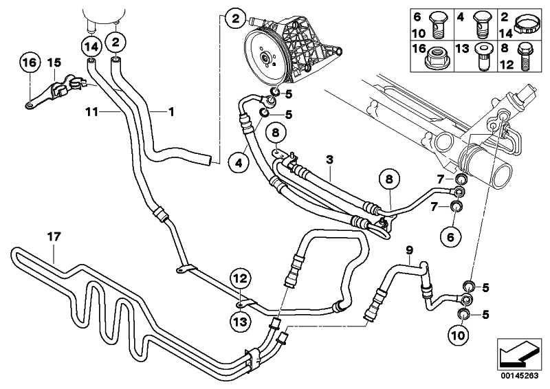 Kühlerrücklaufleitung  3er  (32416796351)
