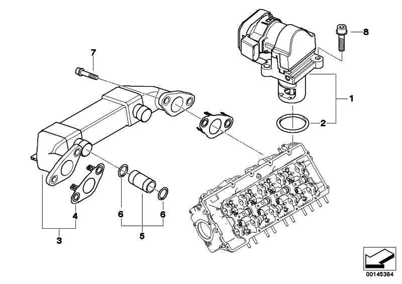 AGR-Ventil  7er  (11717804332)