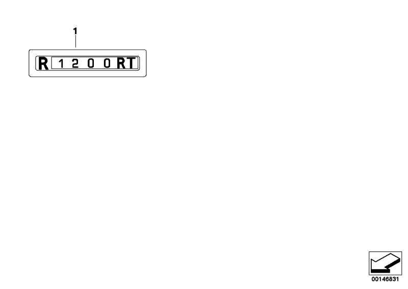 Schriftzug links R1200RT SI/SW    (46637692241)