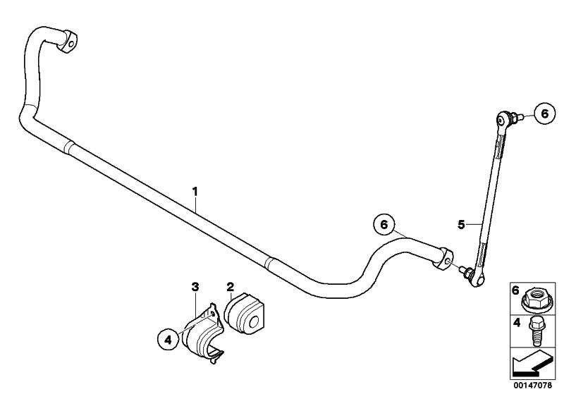 Gummilager Stabilisator D=26,5MM        3er  (31356773512)