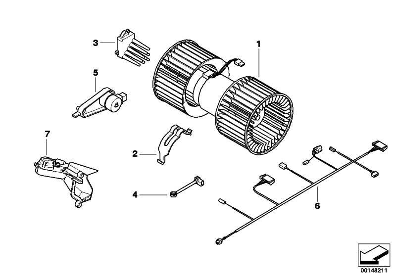 Kabelsatz Heiz/Klimagerät  3er X3  (61126910086)