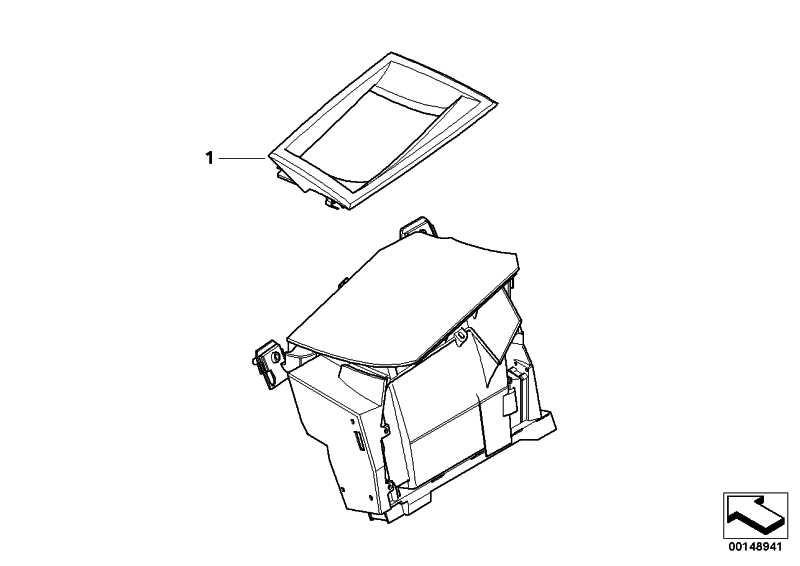 Blende Head-up Display SCHWARZ         5er  (62306934584)