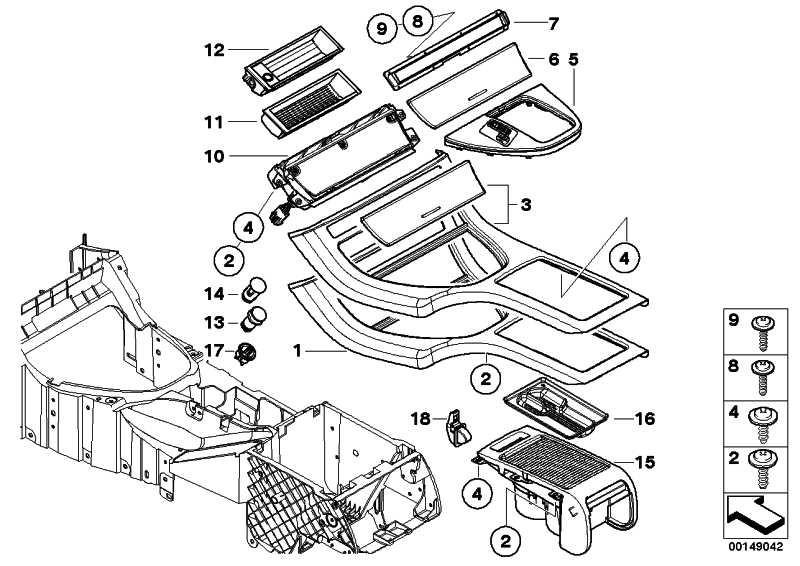 Ablegefach Mittelkonsole  X5  (51168402968)