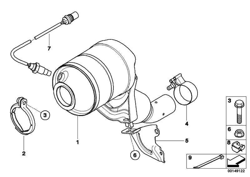AT-Katalysator motornah EU3 1er 3er  (18307794914)