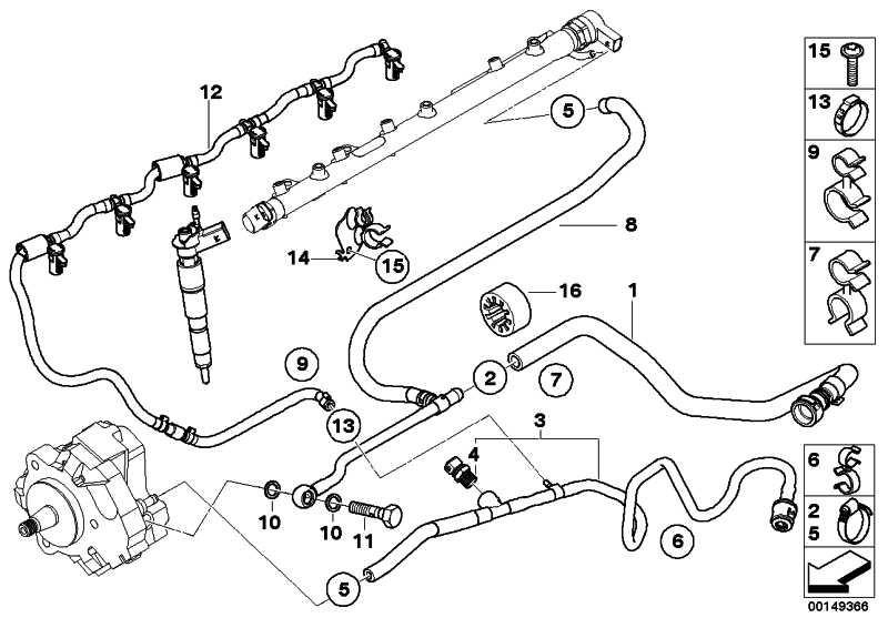Kraftstoffzulaufleitung  3er  (13537801660)