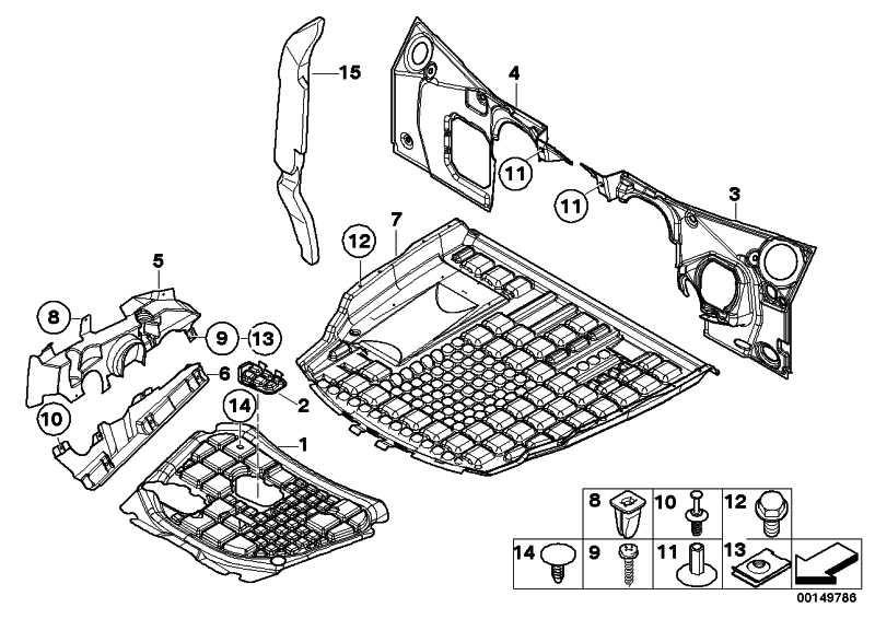 Abdeckung Lenkgetriebe unten rechts  X5  (51717012078)