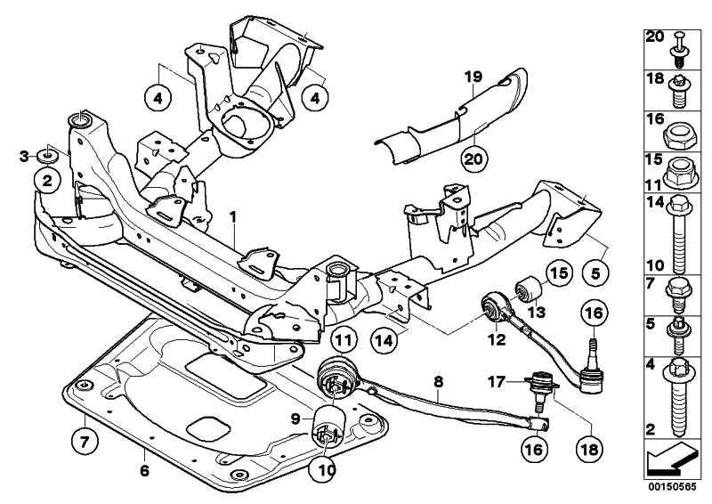 Reparatursatz Querlenker rechts VALUE LINE X3  (31122229522)