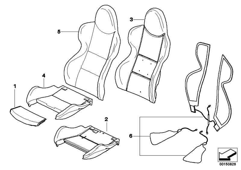 Sitzheizung Wulstteile  Z4  (52107895856)
