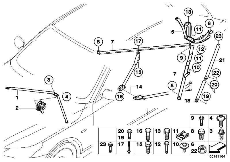 Sechskantmutter M10-8-ZNS3 5er 6er 7er Z4  (07129904048)