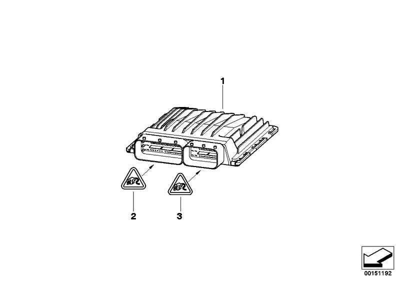 Grundsteuergerät DME MSD812          1er 3er  (12147640015)