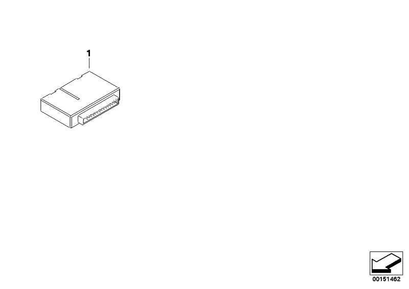 Karosserie-Gateway-Modul  5er 6er  (61359221110)