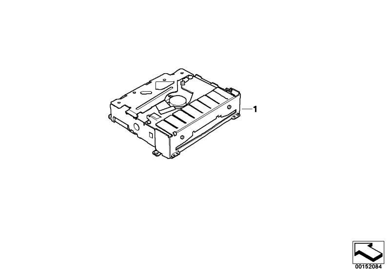 Austausch DVD-Laufwerk  3er 7er X3 X5 Z4  (65839273194)
