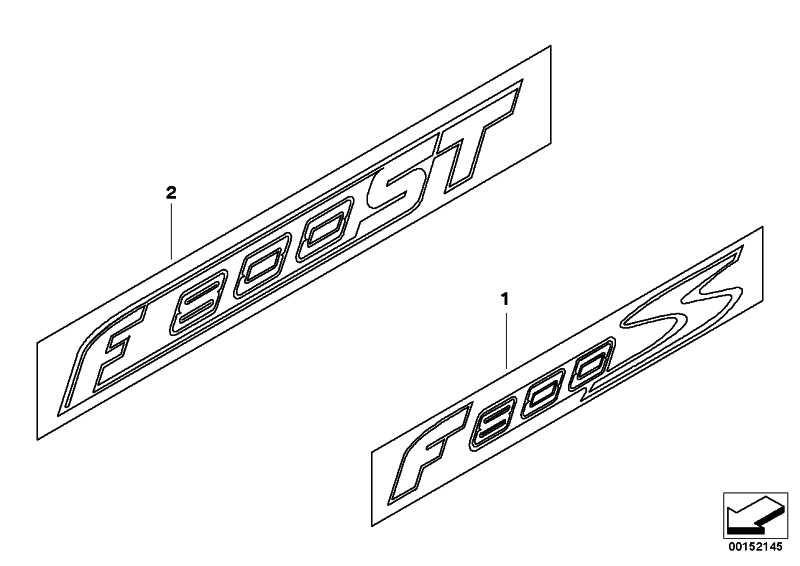 Schriftzug F800ST  K71  (46637698087)