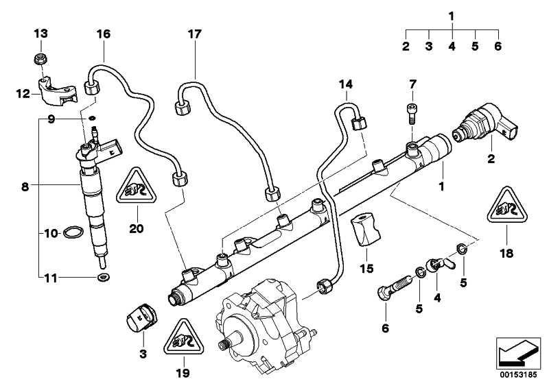 Austausch Injektor  3er 5er 7er X3 X5  (13537809193)