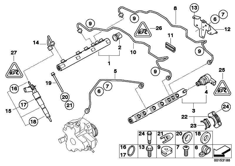 Injektor  1er 3er 5er 7er X3  (13537792097)