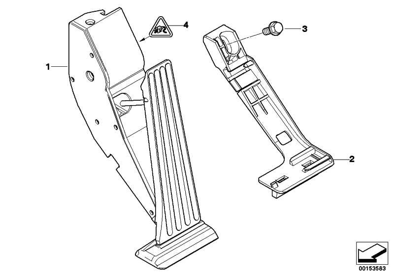 Fahrpedalmodul Automatikgetriebe  3er 5er 7er X5  (35426786281)