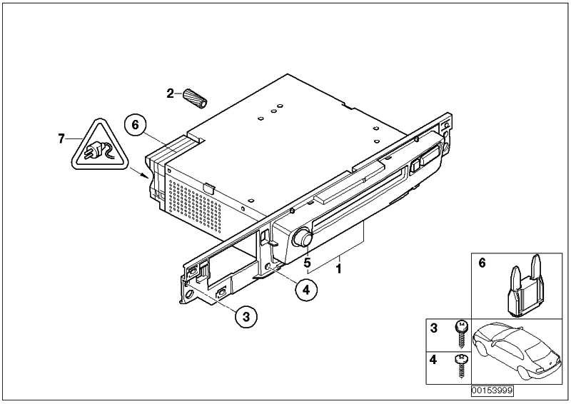 Audiosystemkontroller CD  7er  (65126977634)