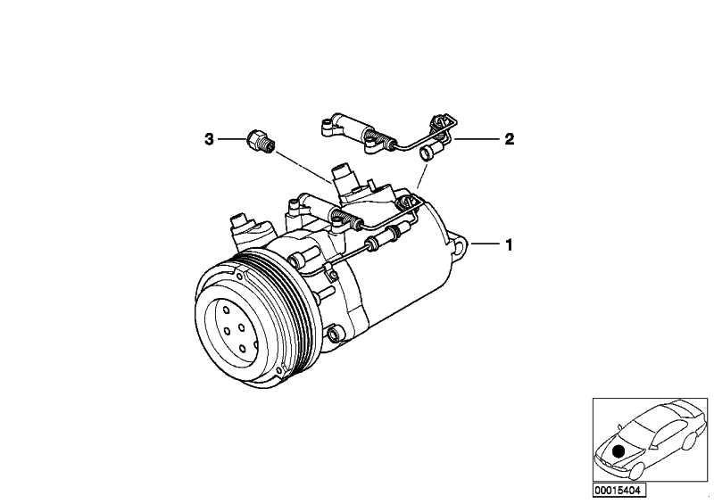 Klimakompressor  3er 5er Z3  (64528386650)