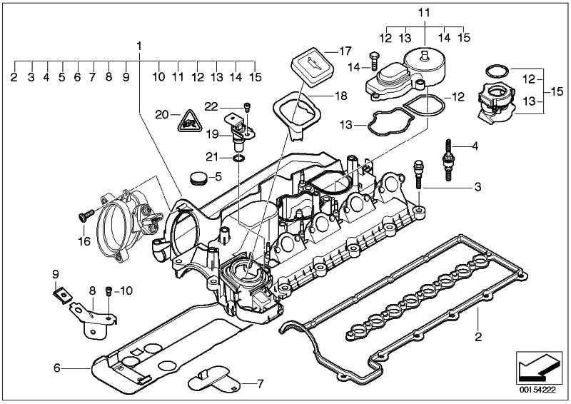 Zylinderkopfhaube  3er 5er X3  (11127799223)