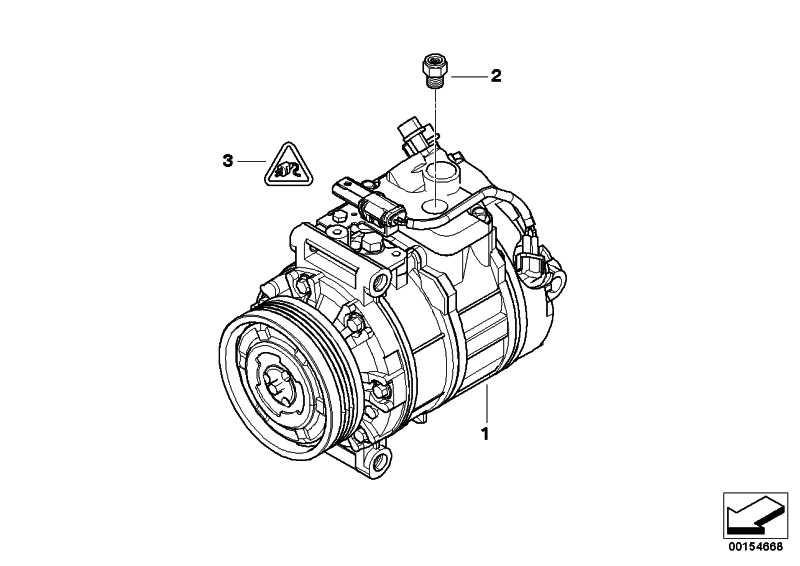 Klimakompressor  3er 5er  (64509180548)