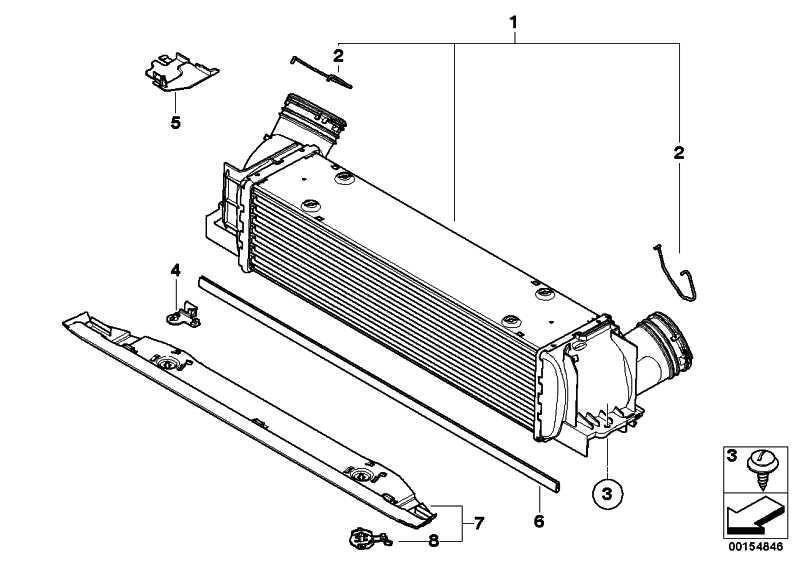 Ladeluftkühler  1er 3er Z4  (17517540035)