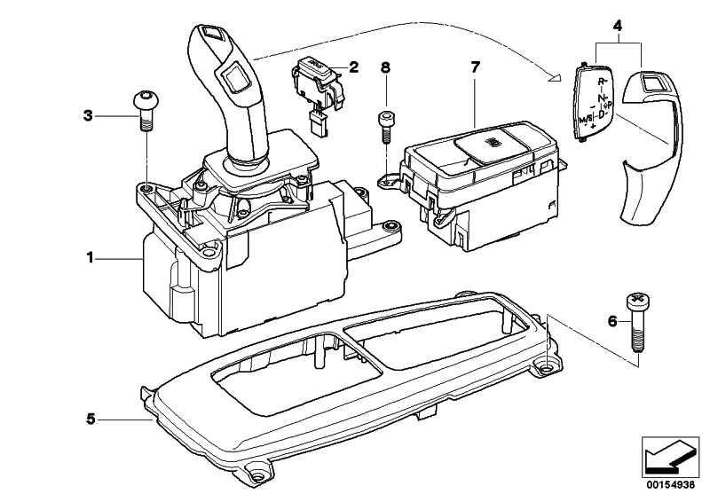 Schalter EMF  X5 X6  (61319156133)