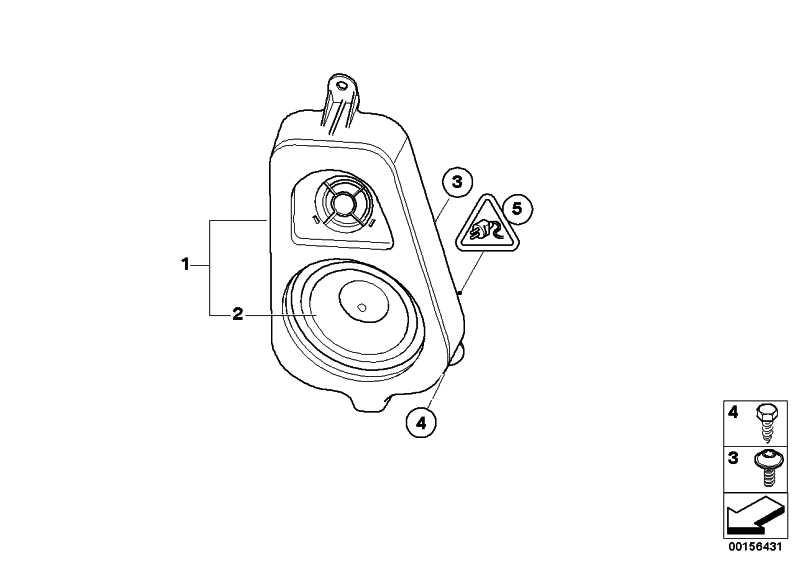 Lautsprecherträger D-Säule RECHTS          X6  (65139211049)