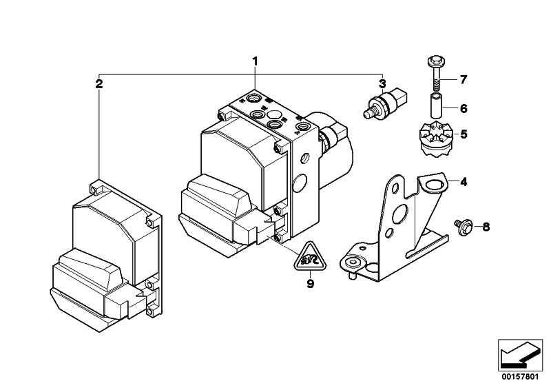AT-Reparatursatz Steuergerät DSC  5er 7er  (34522285051)
