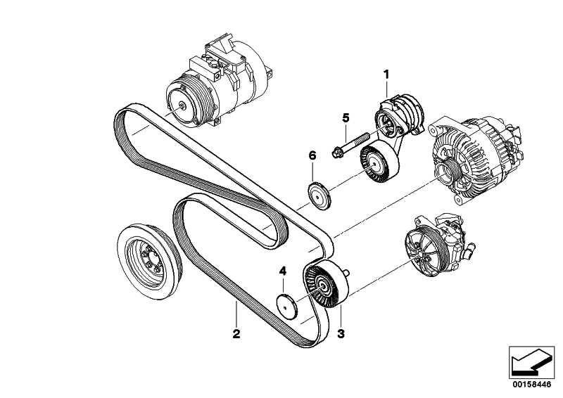 Riemenspanner mechanisch  1er 3er 5er 6er 7er X1 X3 X5 Z4  (11287530314)