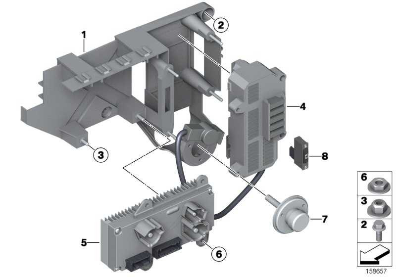 Steuergerät Power Modul  7er  (61359132581)