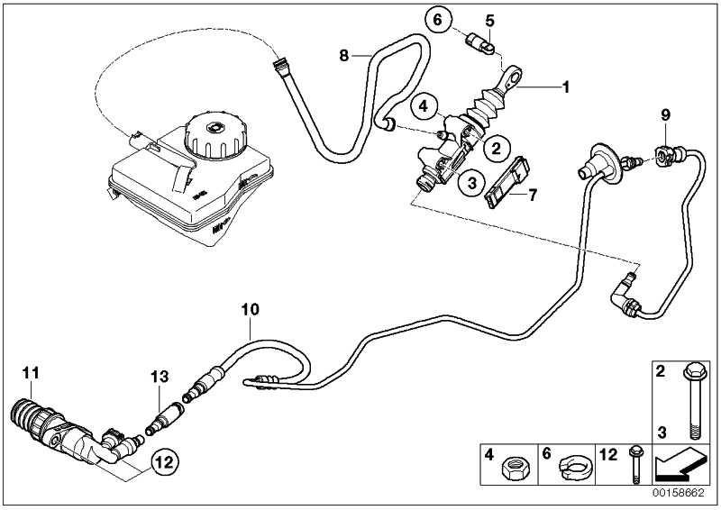 Druckleitung Kupplung  MINI  (21527509234)