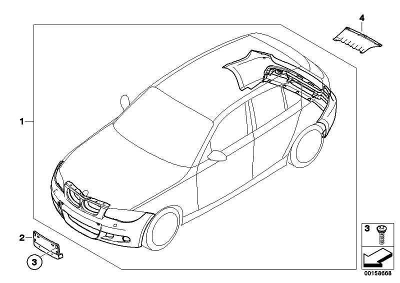 Nachrüstsatz M Aerodynamikpaket GRUNDIERT       1er  (51950422317)