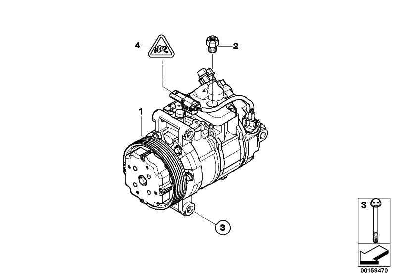 Klimakompressor  1er 3er 5er X1  (64526987863)
