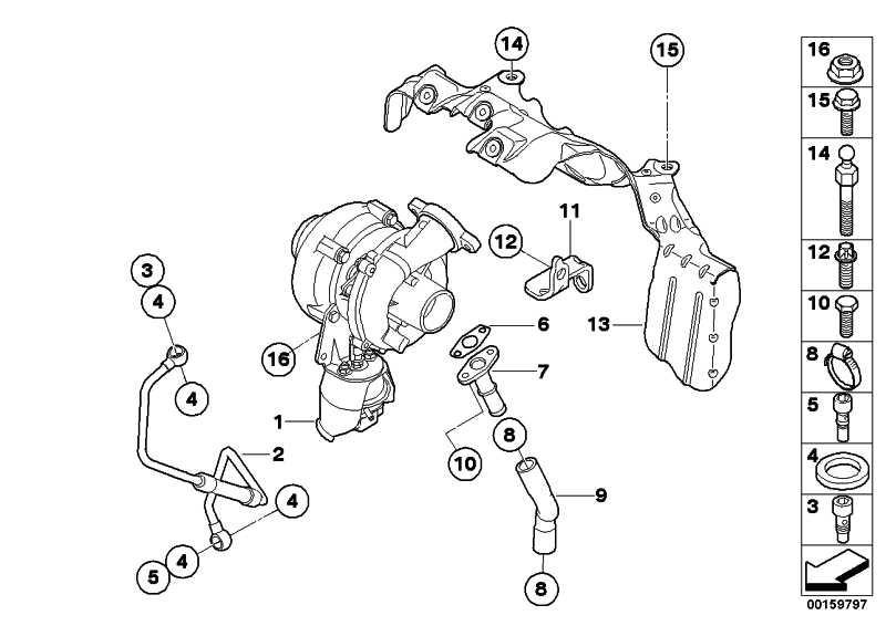 Austausch Turbolader  MINI  (11657804903)