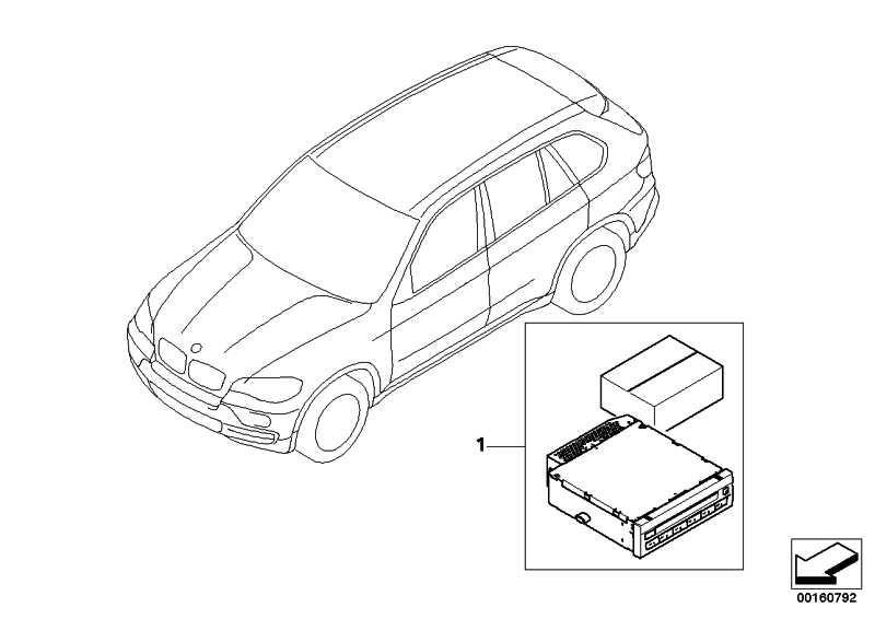 Nachrüstsatz CD-Wechsler  X5 X6  (65120432973)