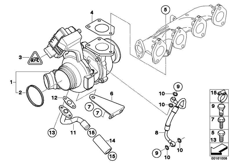 Austausch Turbolader  1er 3er 4er 5er X1 X3  (11658519476)
