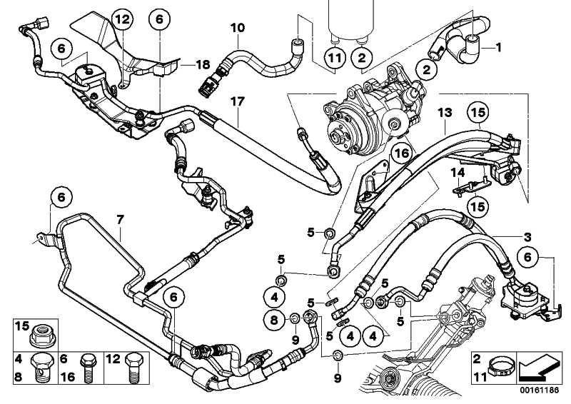 Dehnschlauch Adaptive Drive 2. Teil  X5 X6  (32416783141)