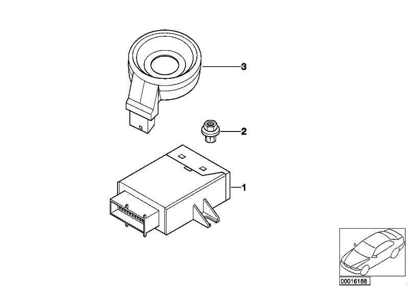 Ringantenne EWS III         3er 5er 7er X3 X5 Z4 Z8 MINI  (61356964556)