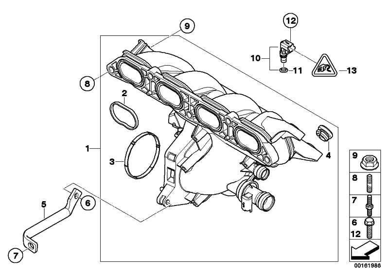 Sensor Einlassdruck  MINI  (13627540508)
