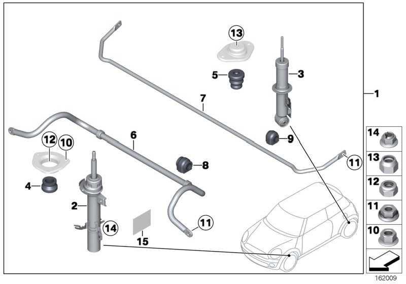 Gummilager Stabilisator D=18MM          MINI  (33556772788)