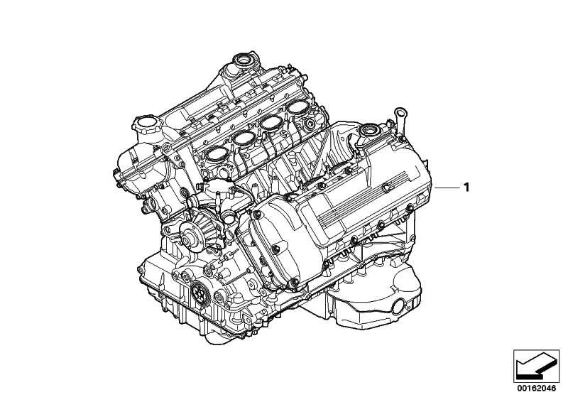 Triebwerk S65B40A         3er  (11000442123)