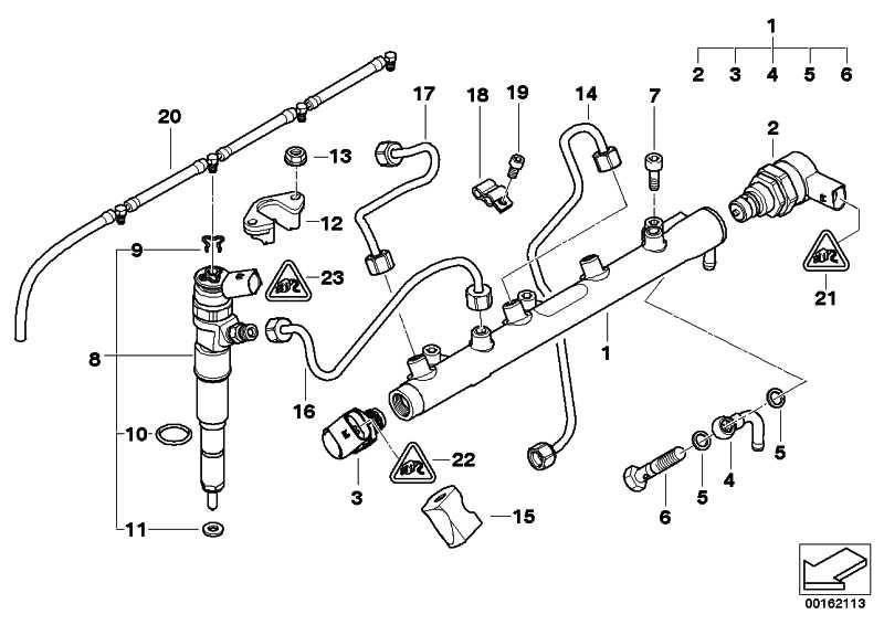 Injektor  1er 3er 5er X3 X5  (13537793836)