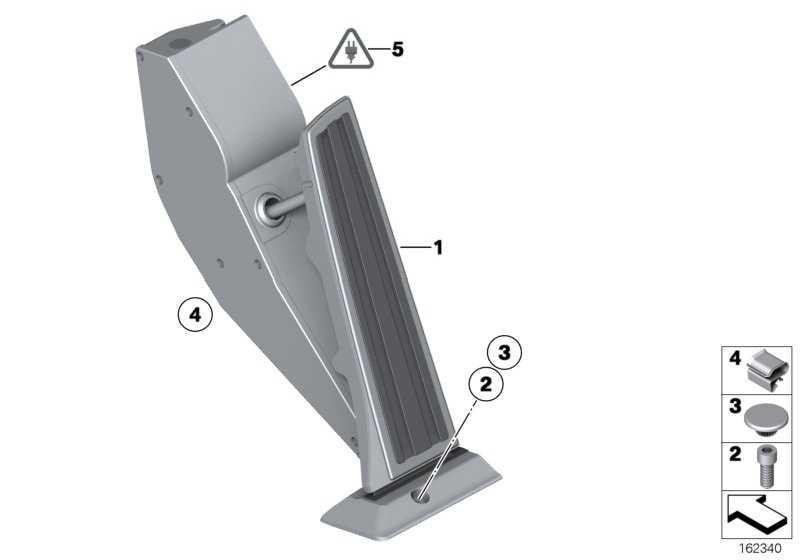Fahrpedalmodul Automatikgetriebe  1er 3er X3 X5 X6  (35426791473)