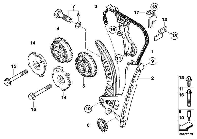 ISA-Schraube M6X45 3er  (07129905116)