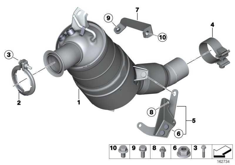 Austausch Dieselpartikelfilter  3er X1  (18307823349)