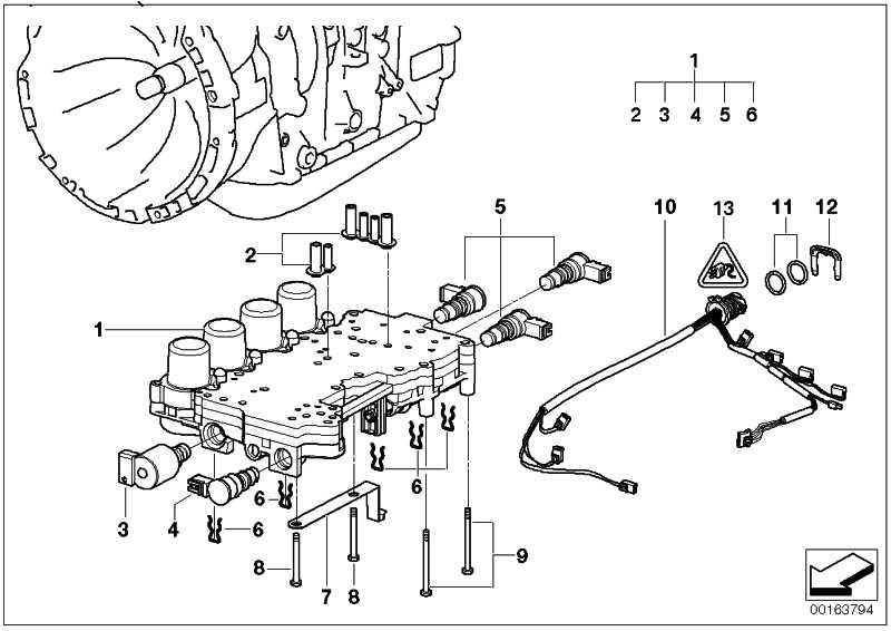Druckregler Wandlerkupplung  3er 5er X3 X5 Z3  (24327532013)