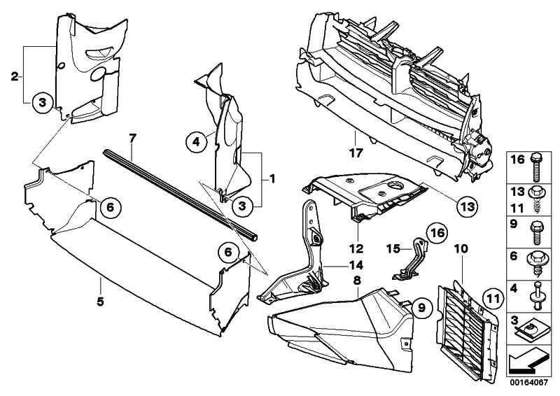 Halter Motorraumabschirmung vorn  X3  (51753449187)